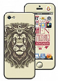 Galatasaray iPhone 5 / 5S Arslan Lisansl� Sticker