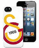 Galatasaray iPhone 5/5S Y�l 1905 Lisansl� Rubber K�l�f