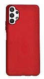 Samsung Galaxy A32 4G Kırmızı Silikon Kılıf