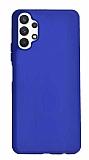 Samsung Galaxy A32 4G Mavi Silikon Kılıf