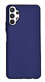 Samsung Galaxy A32 4G Lacivert Silikon Kılıf