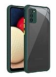 Samsung Galaxy S20 FE Kamera Korumalı Kaff Koyu Yeşil Kılıf