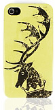 Game of Thrones iPhone 4 / 4S House Baratheon Sert Rubber