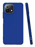 Xiaomi Mi 11 Lite Mavi Silikon Kılıf