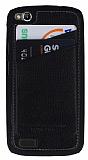 Eiroo General Mobile Discovery Kartl�kl� Deri Rubber K�l�f