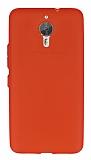 General Mobile GM 5 Plus Metal Tuşlu Mat Kırmızı Silikon Kılıf