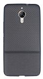 General Mobile GM 5 Plus Ultra İnce Noktalı Füme Silikon Kılıf