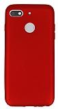 General Mobile GM 8 GO Mat Kırmızı Silikon Kılıf