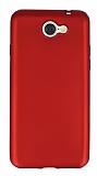 General Mobile GM6 Mat Kırmızı Silikon Kılıf