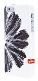 Golla iPhone SE / 5 / 5S Idana Beyaz Sert K�l�f