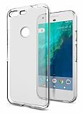 Google Pixel XL Şeffaf Silikon Kılıf
