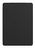 Gosh Apple iPad Pro 9.7 Standlı Yan Kapaklı Siyah Deri Kılıf