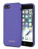 Guess iPhone 7 Plus / 8 Plus Mor Silikon Kılıf