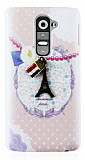 Happy LG G2 Paris Rubber K�l�f