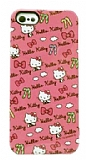 Hello Kitty SAN-154KTE iPhone SE / 5 / 5S Rubber K�l�f
