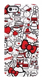 Hello Kitty SAN-155KTB iPhone SE / 5 / 5S Silikon K�l�f