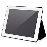 Hoco iPad 2 / iPad 3 / iPad 4 Standl� Siyah Deri K�l�f
