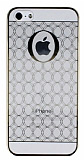 Hoco iPhone 5 / 5S Defender Desenli Gold Kristal K�l�f