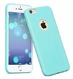 Hoco Juice iPhone 6 / 6S Mavi Silikon Kılıf