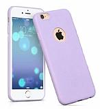 Hoco Juice iPhone 6 / 6S Mor Silikon Kılıf