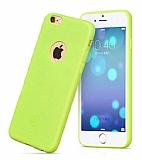 Hoco Juice iPhone 6 / 6S Yeşil Silikon Kılıf