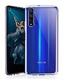 Honor 20 Ultra İnce Şeffaf Silikon Kılıf