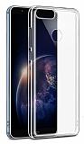 Honor 7X Ultra İnce Şeffaf Silikon Kılıf