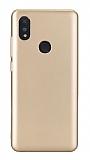 Honor 8A Mat Gold Silikon Kılıf