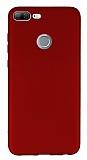 Honor 9 Lite Mat Kırmızı Silikon Kılıf