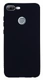 Honor 9 Lite Mat Siyah Silikon Kılıf