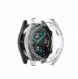 Honor Magic Watch 2 Ekran Korumalı Şeffaf Silikon Kılıf (46 mm)