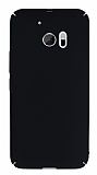 HTC 10 Tam Kenar Koruma Siyah Rubber Kılıf
