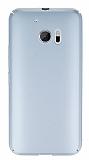 HTC 10 Tam Kenar Koruma Silver Rubber Kılıf