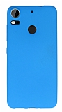 HTC Desire 10 Pro Mat Mavi Silikon Kılıf