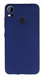 HTC Desire 10 Pro Mat Dark Blue Silikon Kılıf
