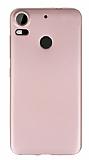 HTC Desire 10 Pro Mat Rose Gold Silikon Kılıf