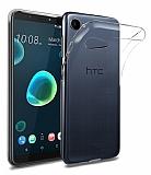 HTC Desire 12 Ultra İnce Şeffaf Silikon Kılıf
