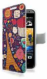 HTC Desire 300 Paris Cüzdanlı Yan Kapaklı Kılıf