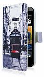 HTC Desire 300 Taksim Cüzdanlı Yan Kapaklı Kılıf