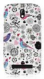 HTC Desire 500 Bird Sert Mat Rubber K�l�f