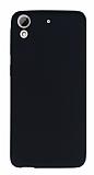 HTC Desire 626 Mat Siyah Silikon Kılıf