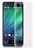 HTC Desire 728G Şeffaf Kristal Kılıf