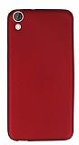 HTC Desire 820 Mat Kırmızı Silikon Kılıf