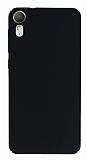 HTC Desire 825 / Desire 10 Lifestyle Tam Kenar Koruma Siyah Rubber Kılıf