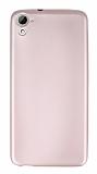 HTC Desire 826 Mat Rose Gold Silikon Kılıf