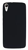 HTC Desire 828 Mat Siyah Silikon Kılıf