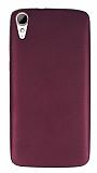 HTC Desire 828 Mat Mor Silikon Kılıf