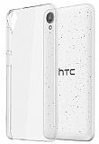 HTC Desire 828 Şeffaf Kristal Kılıf