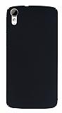HTC Desire 828 Tam Kenar Koruma Siyah Rubber Kılıf