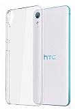 HTC Desire 830 Şeffaf Kristal Kılıf